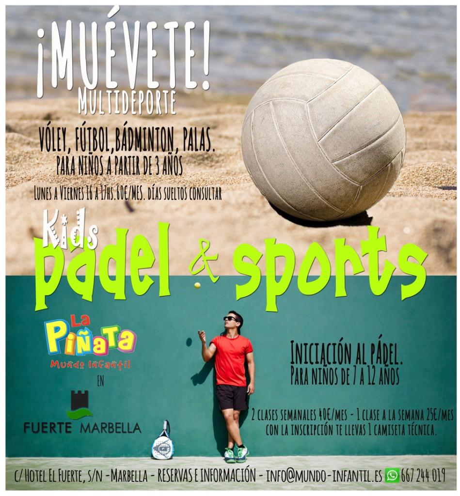 ¡Muévete! Kids Pádel & Sports.