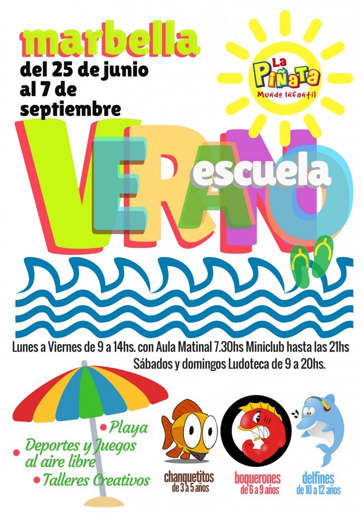 Escuela de Verano La Piñata 2018